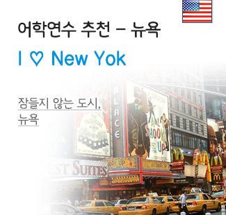 뉴욕의 치명적 매력에 빠져보자!